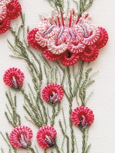 Brazilian Dimensional Embroidery