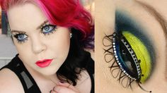 Neon Navy Makeup Tutorial