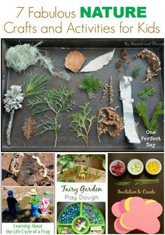 Nature crafts and activities for kids