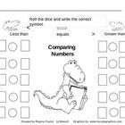 You will receive three worksheets for students to compare numbers using greater than, less than and equal to symbols. In the first activity student...