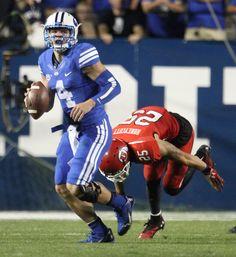Quarterback Taysom Hill in action. (Rick Egan    The Salt Lake Tribune)