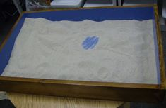 Creative Counseling 101 - This site is a grand resource...many many good things + books for training Sand Tray: How to use the sand tray