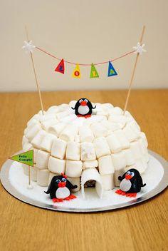 awesome penguin igloo!!!!!!!!