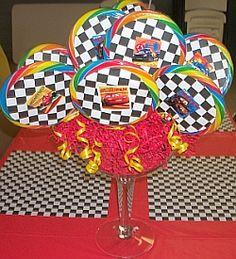 Cars Lollipop Bouquet