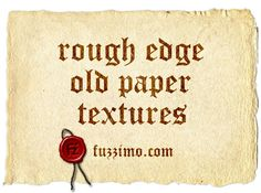 Free paper textures.