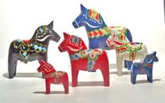 Dala horse collection