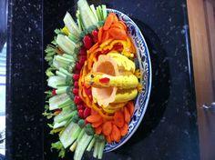 Turkey veggie tray :)