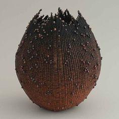 Patsy Lee Sipe    Copper Wire Vessel