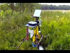 """How To Make An Outdoor Painting Easel """"Bushcraft"""" Style On Location - Acrylic Painting Tips"""
