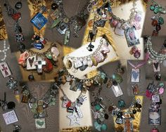 Cake Art By Amy Hours : Art-I-Cake/mixed media jewelry on Pinterest 117 Pins