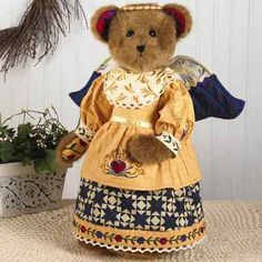 She's adorable.  If you love Jim Shore and Boyds Bears, check our eBay store for these beautiful collaborations.