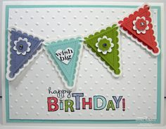 Stampin' Up! - Pennant Parade & Bring on the Cake