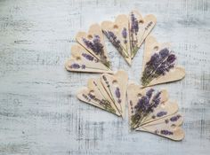 Wedding favors wedding decor lavender Provence by HandyHappyHearts, $7.00