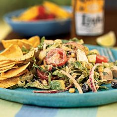 Chipotle Chicken Taco Salad | CookingLight.com