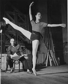 Maria Tallchief and Balanchine