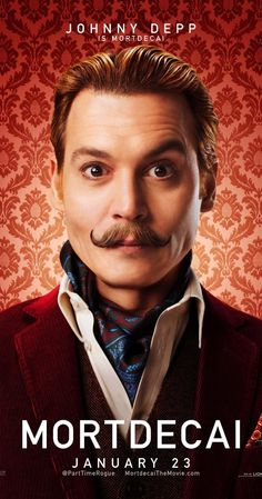 Directed by David Koepp.  With Johnny Depp, Olivia Munn, Aubrey Plaza, Ewan McGregor. Art dealer Charles Mortdecai searches for a stolen painting that's reportedly linked to a lost bank account filled with Nazi gold.