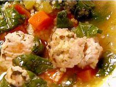 Barefoot Contessa Italian wedding soup. Delicious!