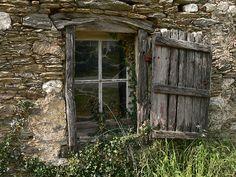 Derelict french farmhouse