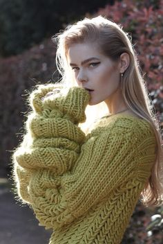 .knitted sweater