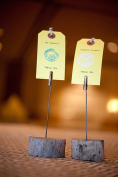 Escort Cards ~ Photography by larissacleveland.com