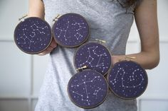 Embroidered Constellations