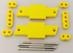 Made for You Products: Bowtie Wire Looms, yellow