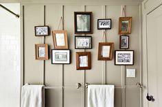 galleri wall, a frame, picture frames, bathroom, frame walls