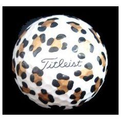 Printed golf balls- LOVE