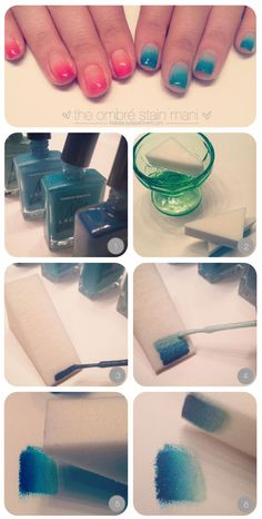Ombre Stain Manicure   Beauty Department