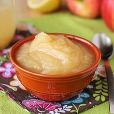 Simple Naturally Sweet Apple Sauce 2 ingredients, 30 minutes on the stove and you can have the most perfect natural homemade apple sauce!
