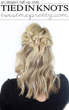 Tied in Knots Hairstyle