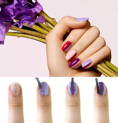 A nail look perfect for a summer stroll in the garden. #HowTo #Sephora #FormulaX