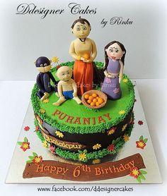 Birthday Cake Images With Name Krishna : Chota Bheem Cake Birthday Cakes Pinterest