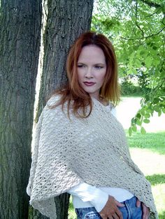Cozy Knitted Shawl - free pattern