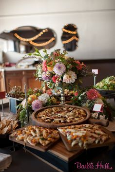 Another beautiful and delicious buffet spread at our Yacht Club. Ravishing Radish Catering, Barbie Hull Photography.