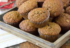 Whole Grain Morning Glory Muffins