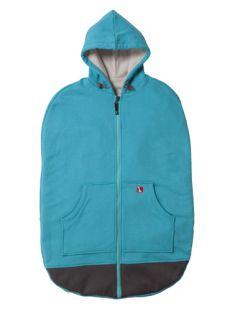 A stroller bag that looks like a hoodie!
