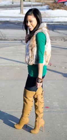 fur fur fur fur fur boots and bows