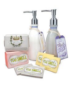 Take a look at this Fresh & Clean Soap & Lotion Set by You Smell on #zulily today!