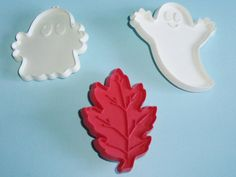 Vintage Hallmark Halloween Ghost Cookie by AnEclecticEccentrica