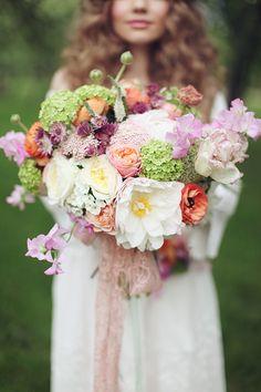 bridal bouquet ideas from Blush Petals