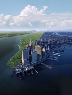 Manhattan, 1612 and 2012