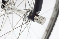 sphyke C3N anti-theft combination lock for bike components