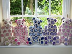 Ravelry: hamishbrown's 5 Crochet Bears for our Nieces' birthdays