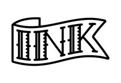 Logo for an exhibition of tattoo art.