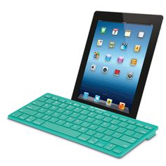 Bluetooth Keyboard For iPad/iPhone/iPod In Teal.
