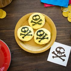 Jake and the Never Land Pirates Cookie Stencils