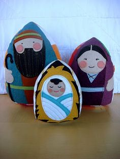 Felt nativity set
