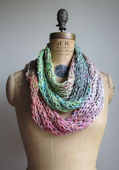 infinity scarves!