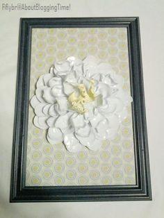 flower art, frame flower